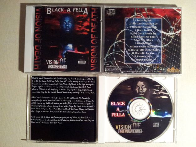 Black-A-Fella - 1996 - Vision Of Death - CD