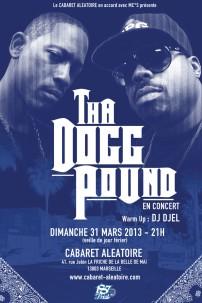 Tha Dogg Pound en concert à Marseille le dimanche 31 mars 2013