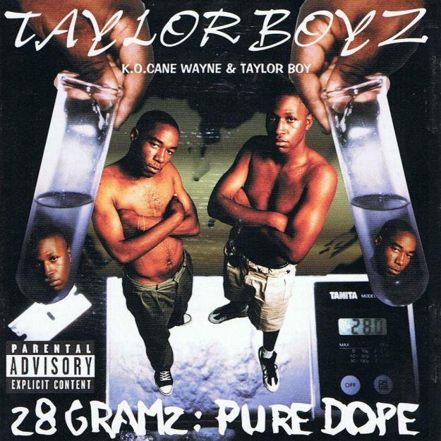 Taylor_Boyz-1996-28_Gramz_Pure_Dope-Front