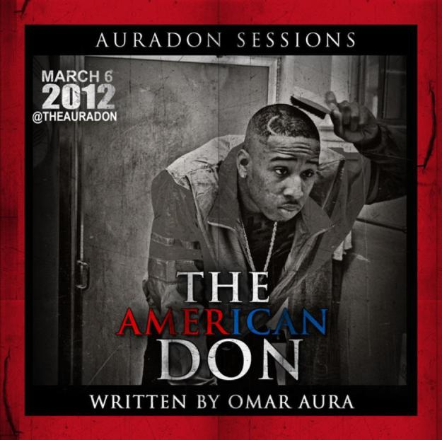 Omar Aura - 2012 - Auradon Sessions (The American Don) - Front