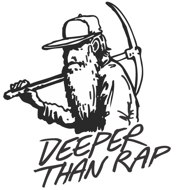 Deeper Than Rap - Logo