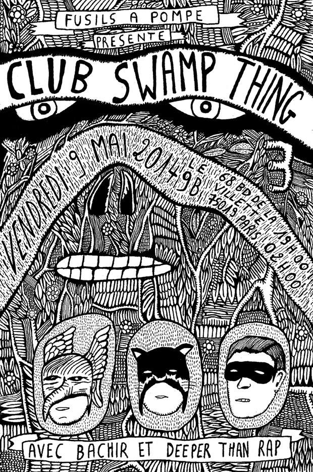 Club Swamp Thing 3 - Flyer